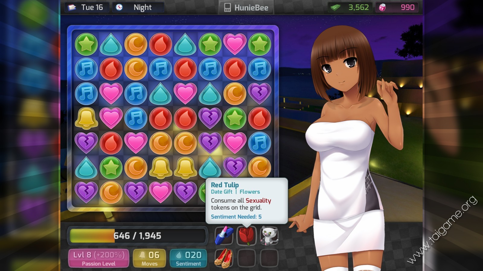 Game huniepop kyu bedroom stage - 3 part 9