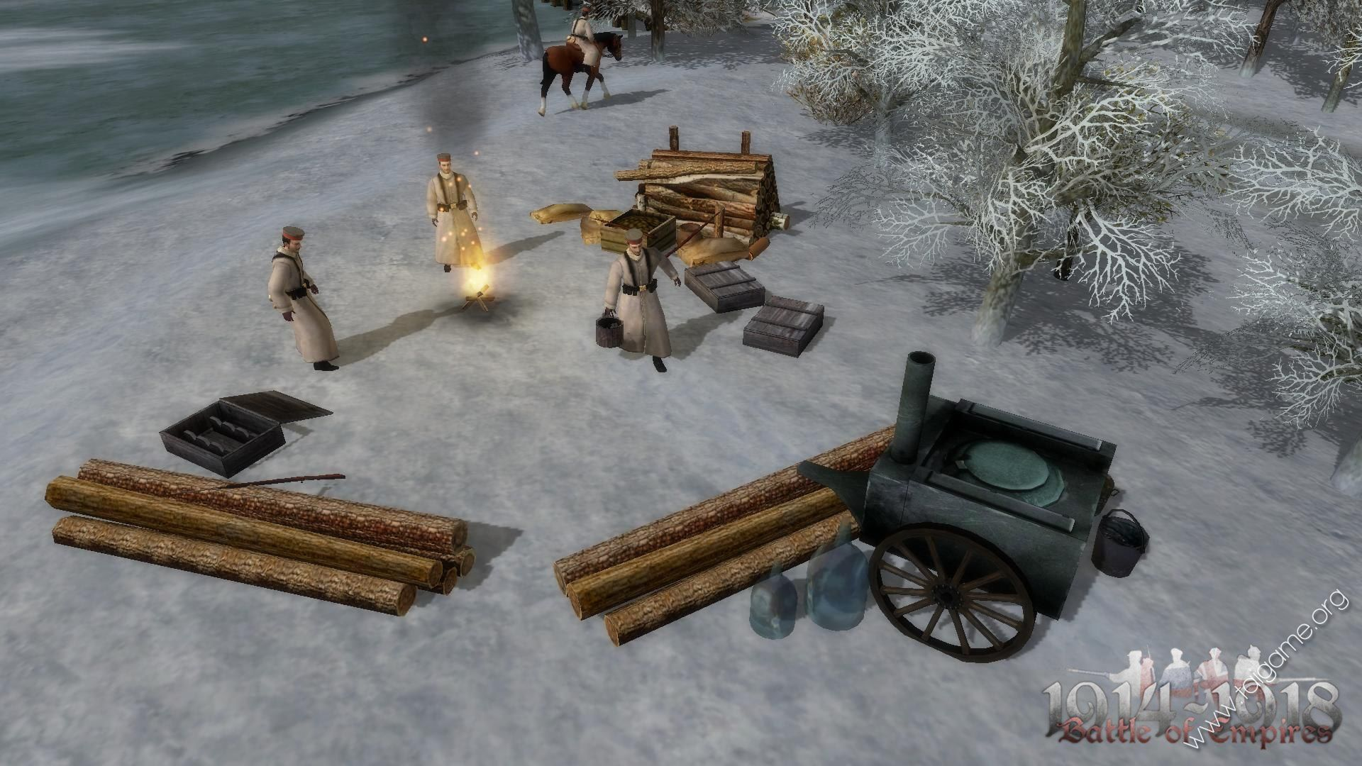 Battle of Empires: 1914-1918 - German campaign 2015 pc game Img-1
