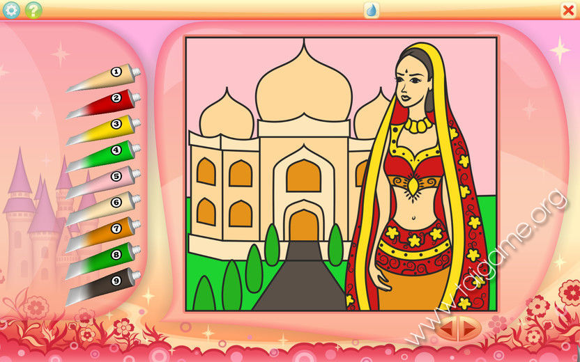 Color It By Numbers - Download Free Full Games