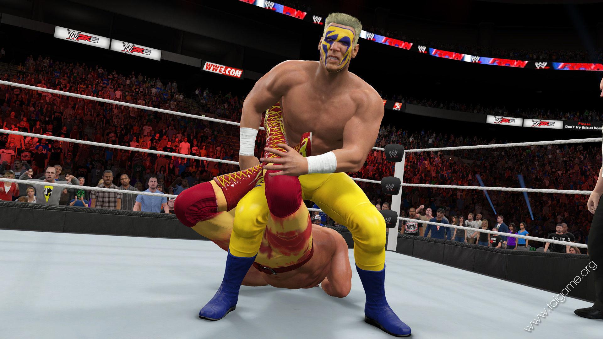 WWE 2K15 - Download Free Full Games | Fighting games