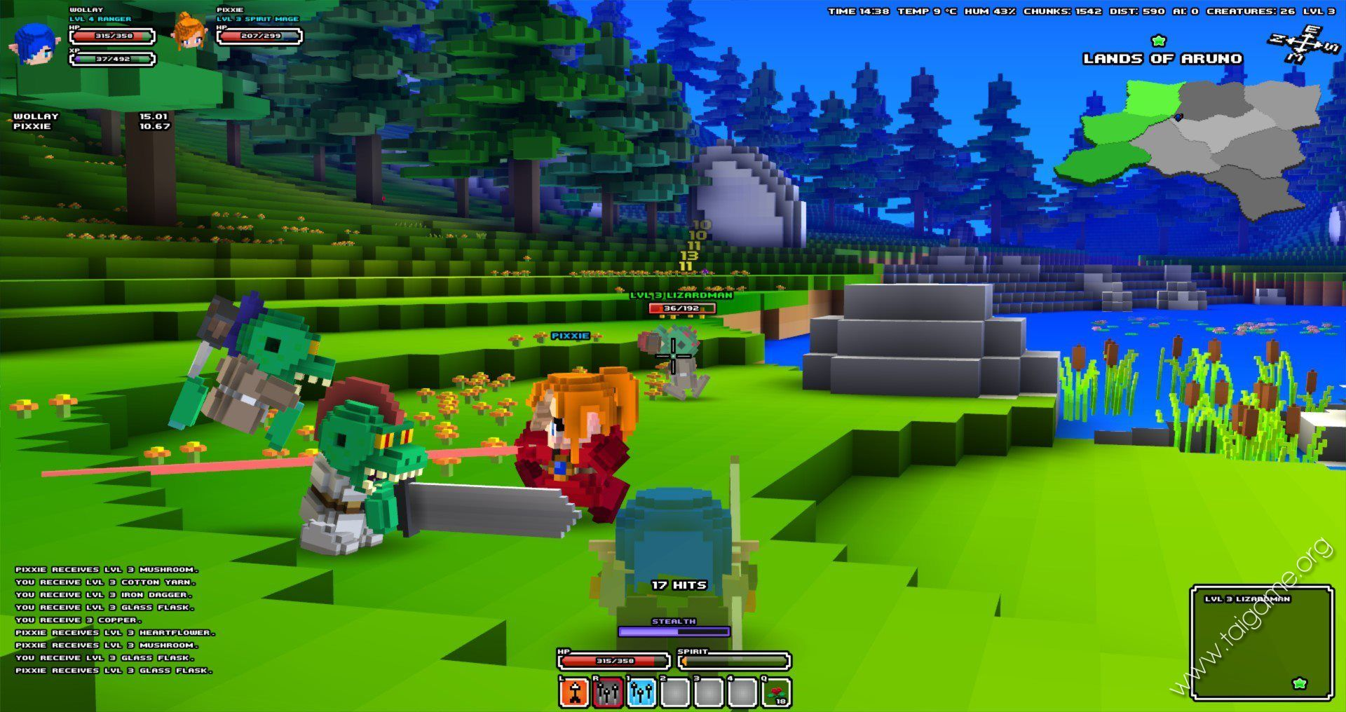cube world flash game