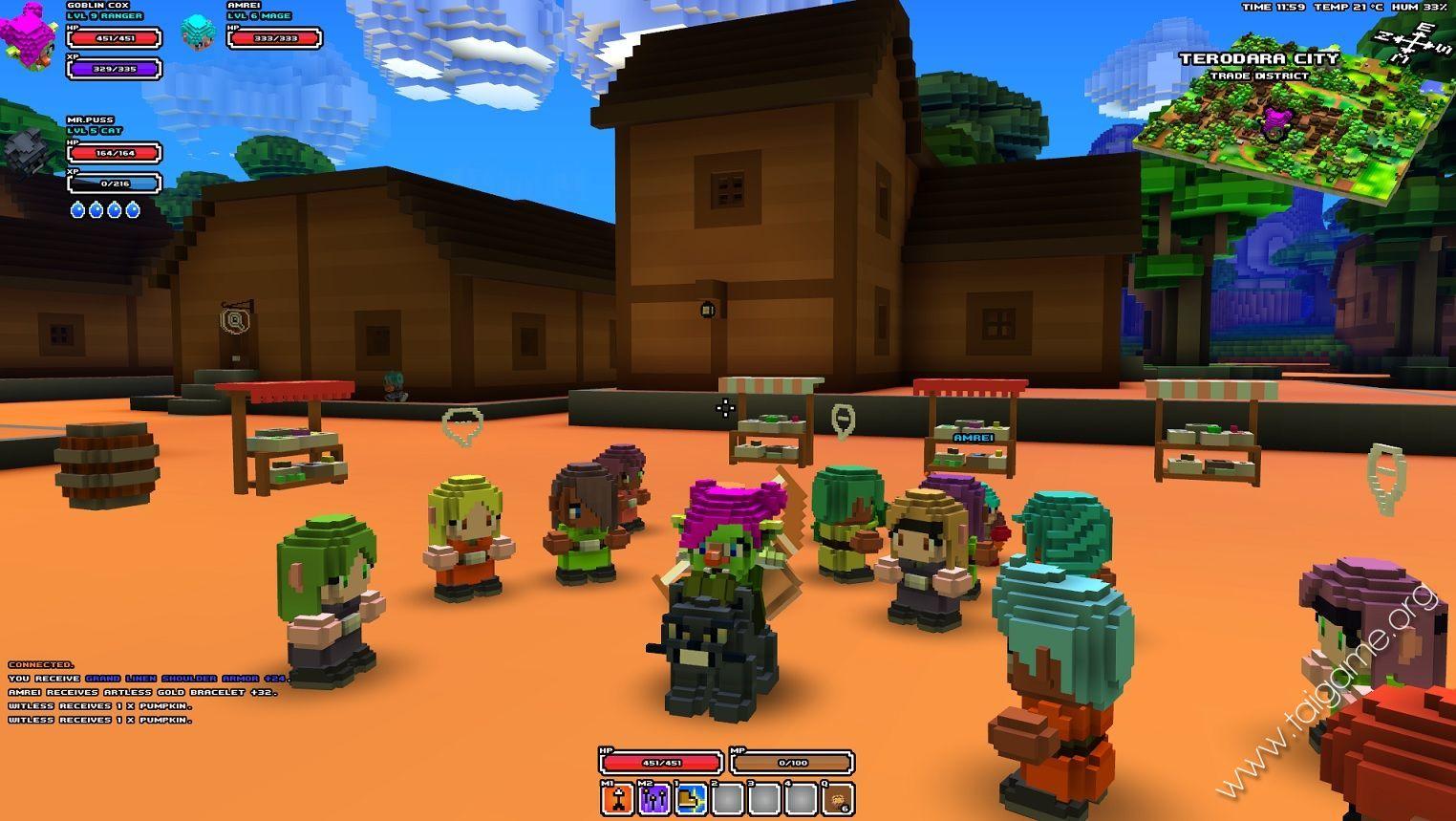 Cube World Flash Game