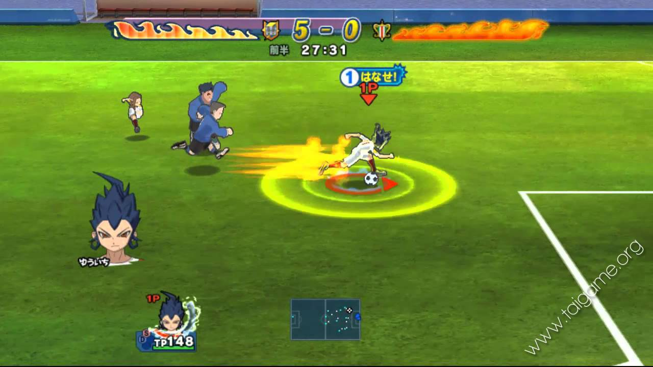 download game inazuma eleven go strikers 2013 iso