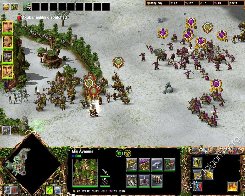 Kohan II: Kings of War - Download Free Full Games   Strategy