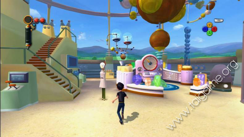 meet the robinsons games for kids