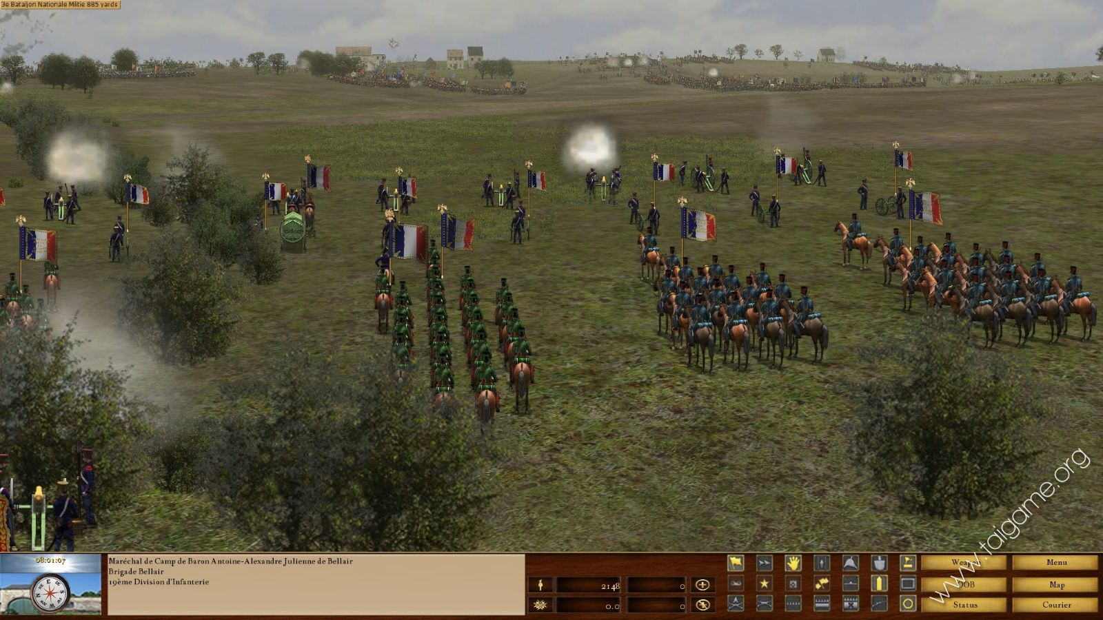 battle of waterloo computer game