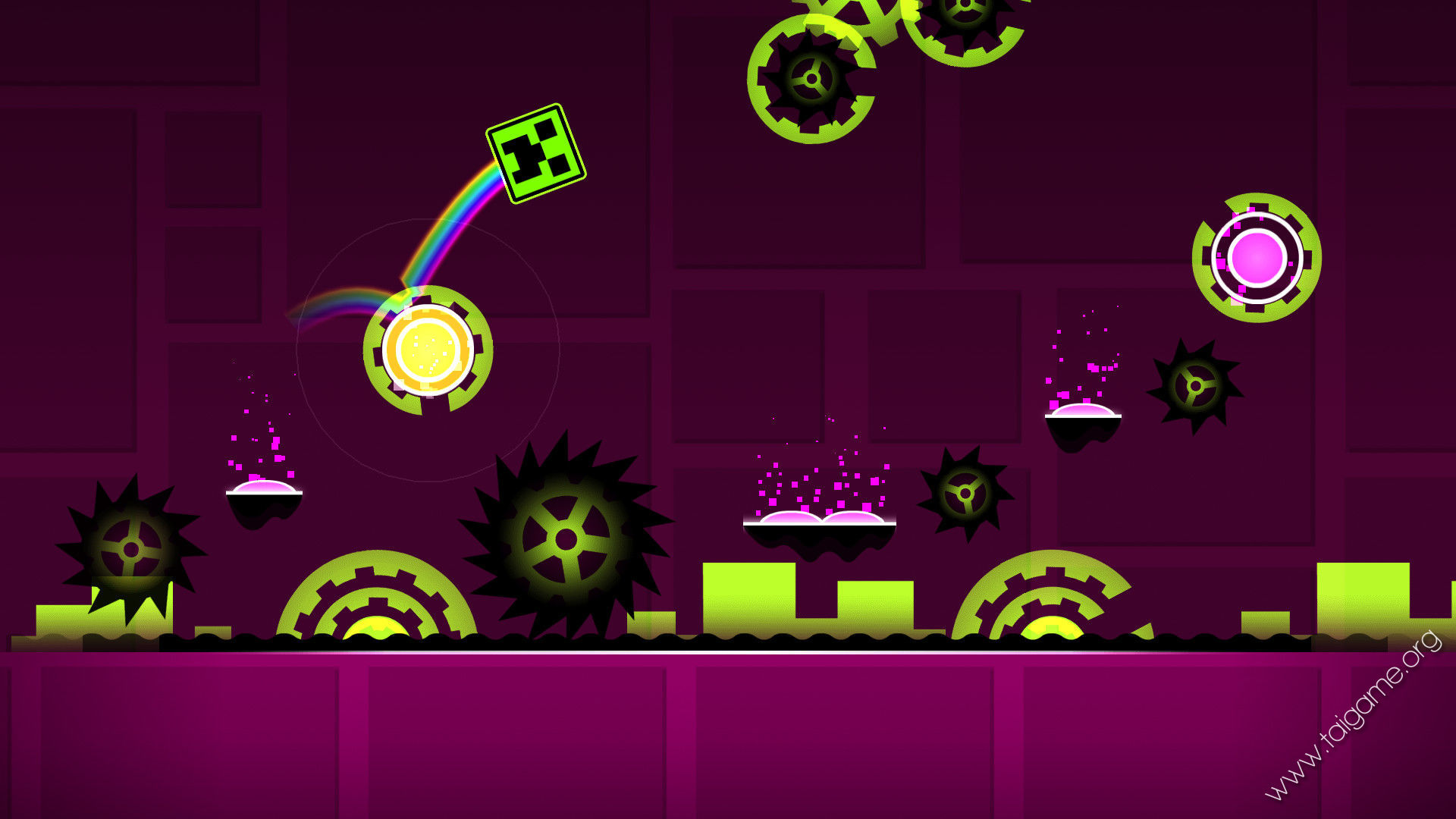 Jump and fly your way through danger in this rhythm based action