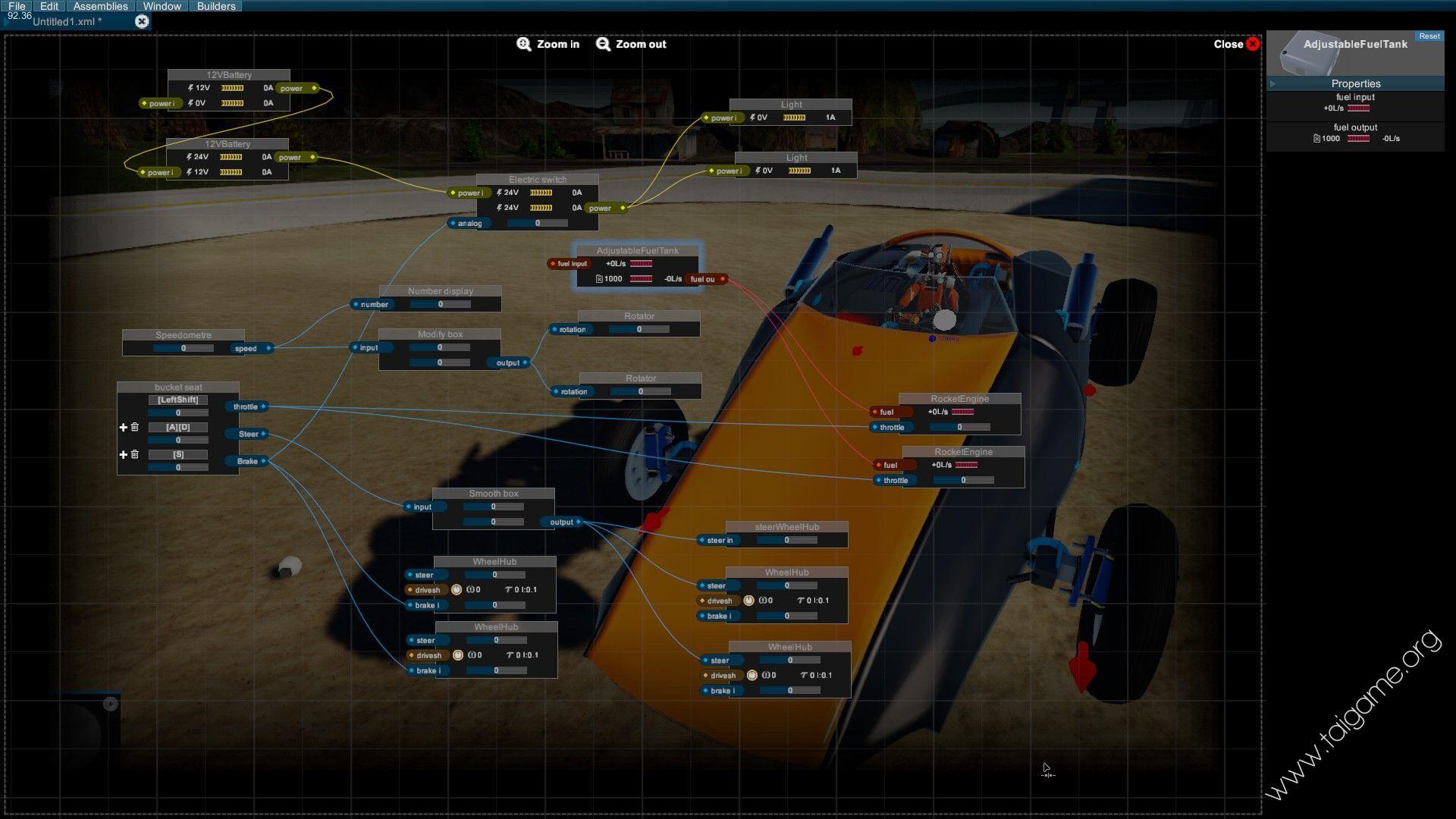 Homebrew - Vehicle Sandbox - Download Free Full Games | Arcade