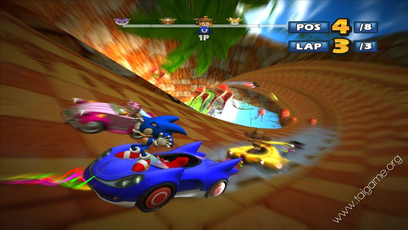 Sonic Car Games Android
