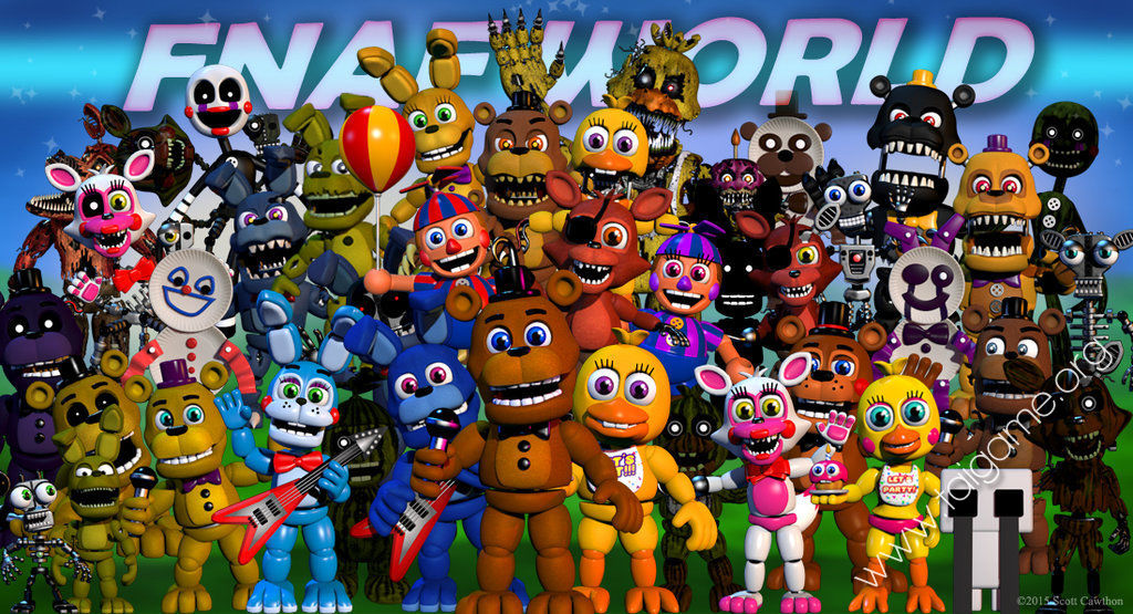 Fnaf world download free full games role playing games