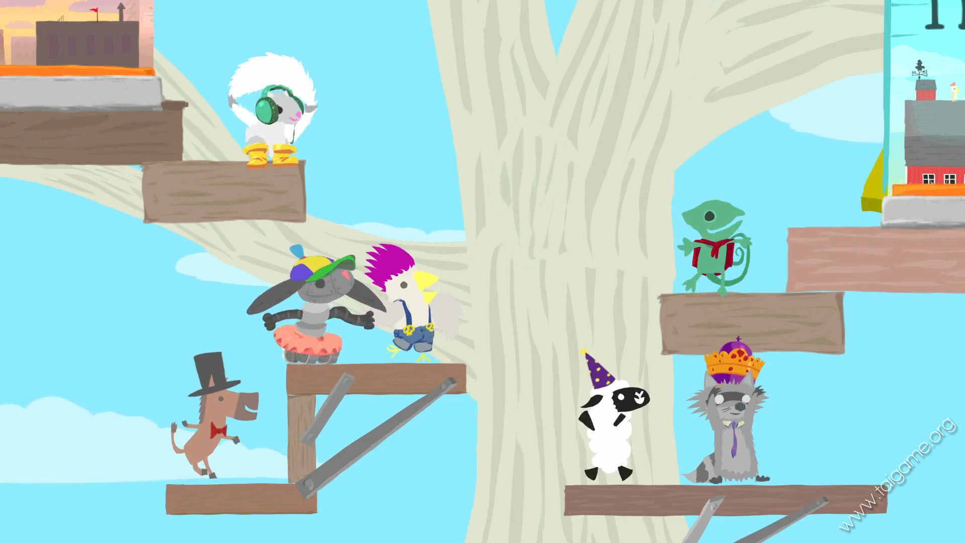 Ultimate Chicken Horse Download Free