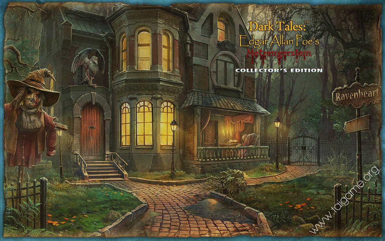 Dark Tales Edgar Allan Poe S Metzengerstein Collector S