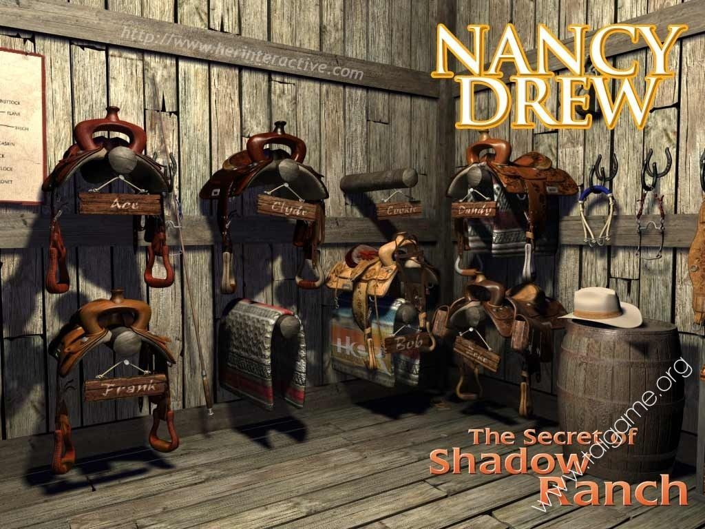 nancy drew and the secret of Find helpful customer reviews and review ratings for nancy drew: the secret of shadow ranch - pc at amazoncom read honest and unbiased product reviews from our users.