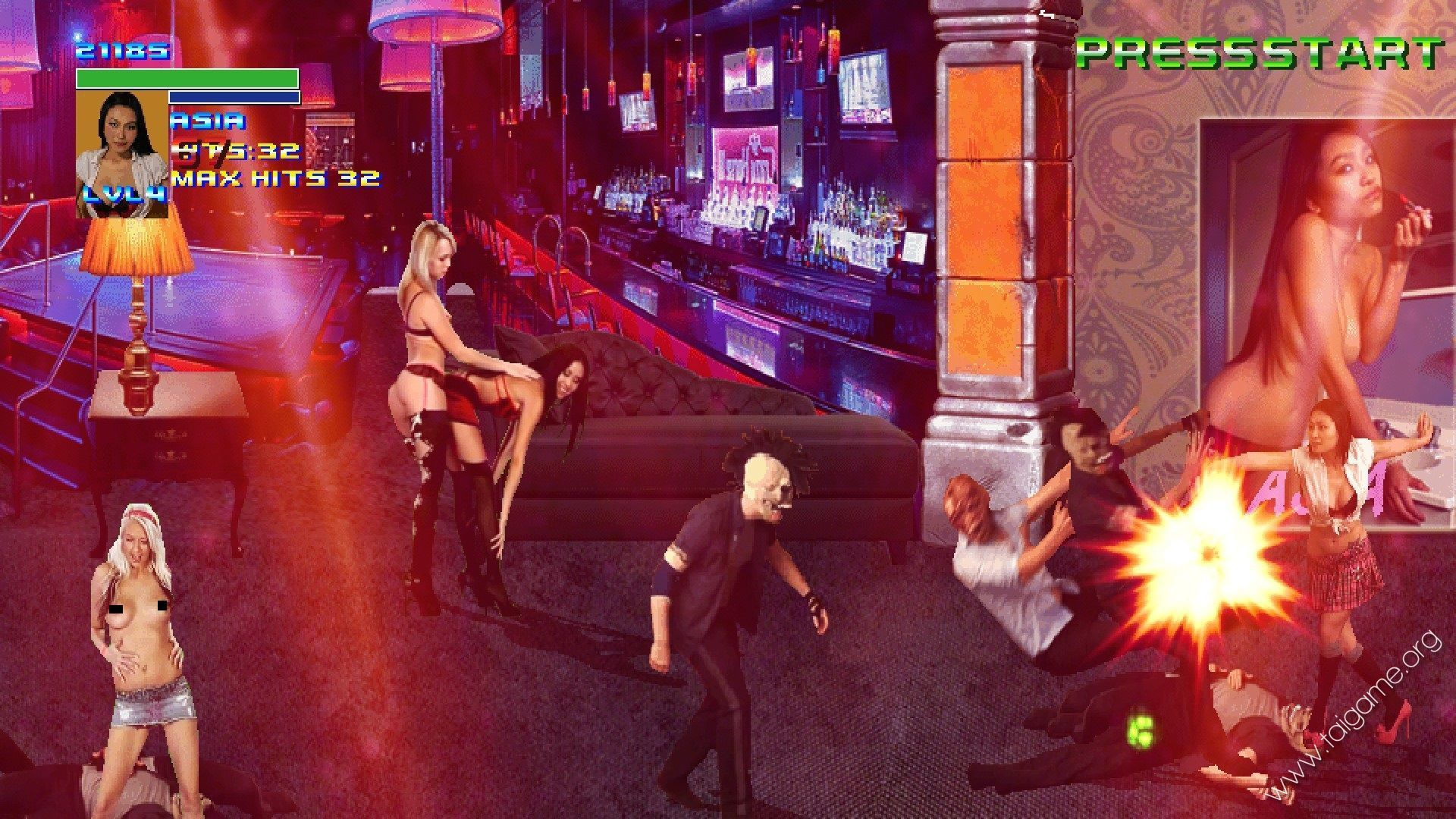 Play Force One - Sex Stories Cinema erotic flash game