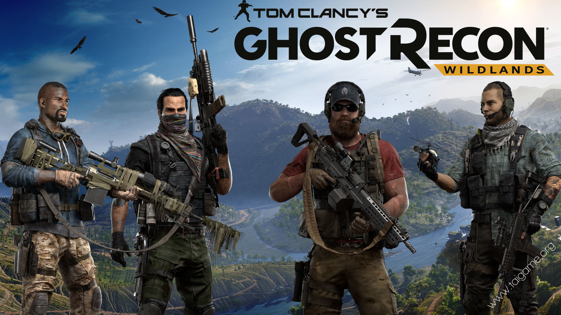 Tom Clancy's Ghost Recon Wildlands - Tai Game