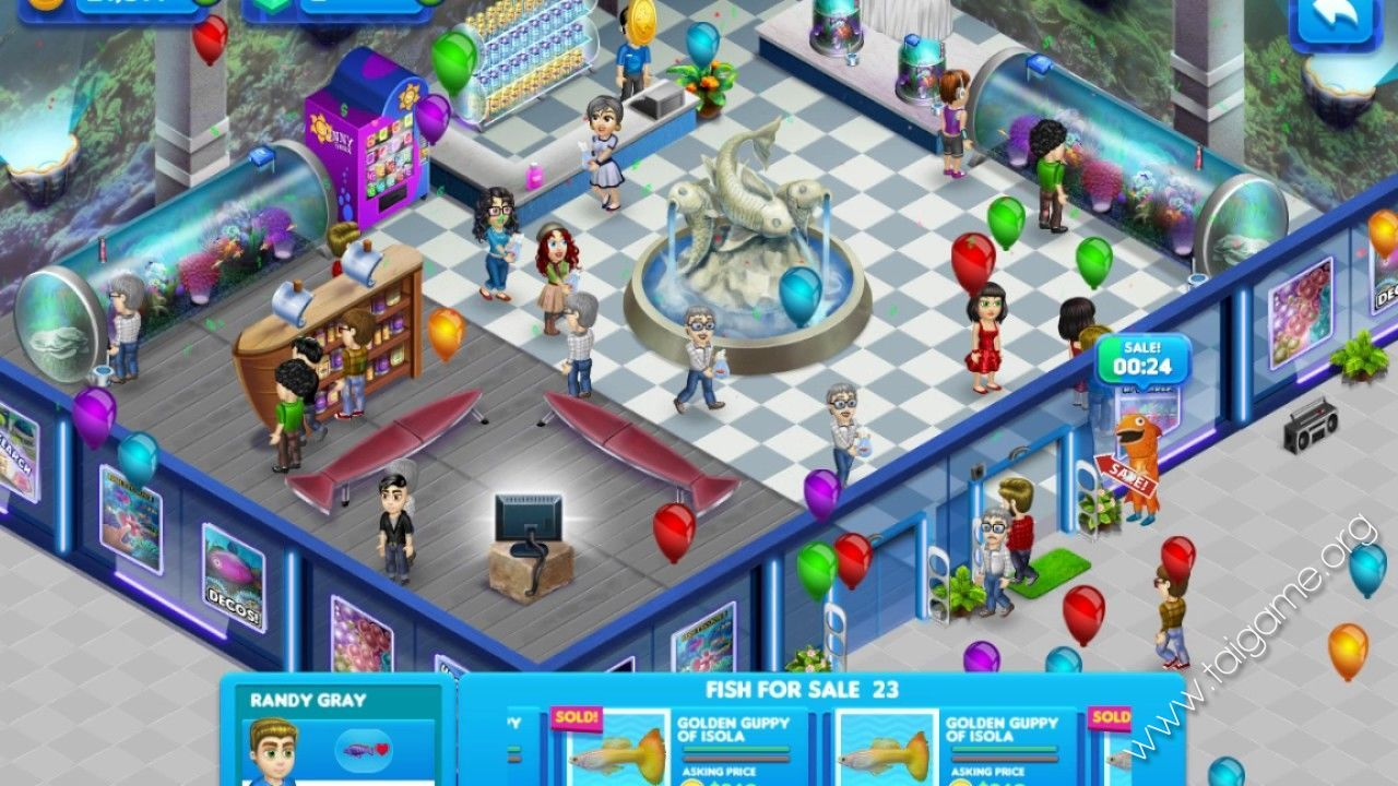 Fish tycoon 2 download free full games simulation games for Fish tycoon 2