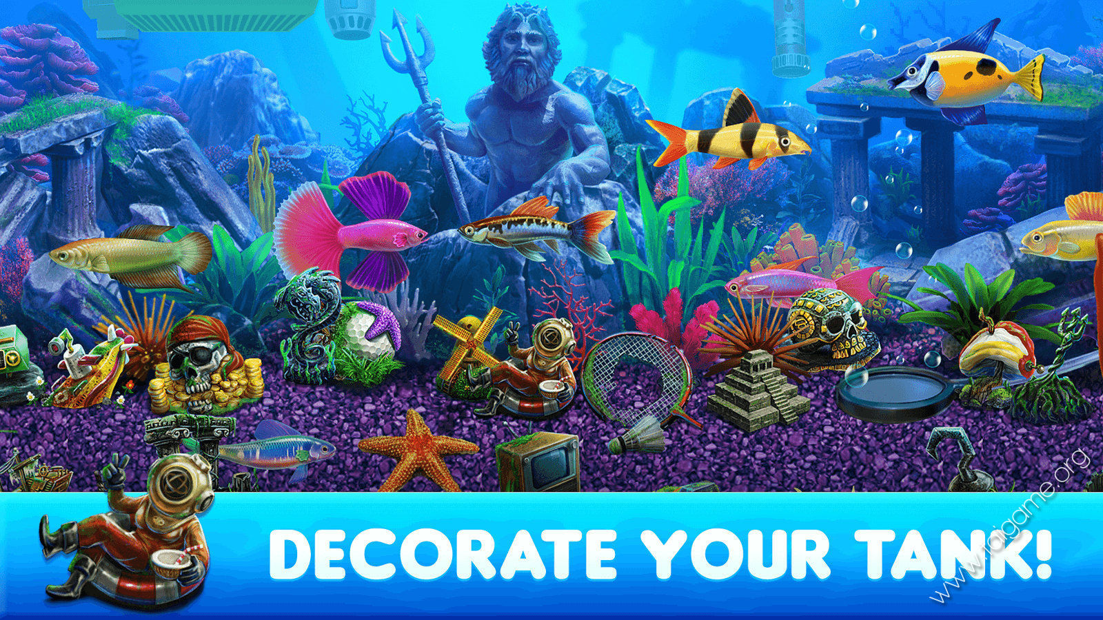 Fish tycoon 2 download free full games simulation games for Gold fish game