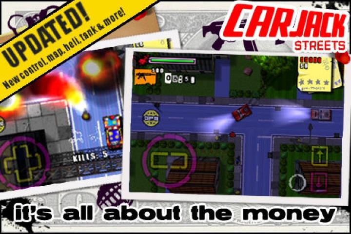 car jack streets mobile game download