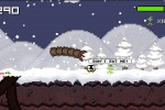 Super Mega Worm Vs Santa Saga screenshot 2