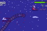 Super Mega Worm Vs Santa Saga screenshot 4
