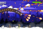 Super Mega Worm Vs Santa Saga screenshot 5