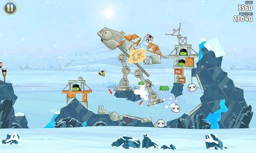 Game Angry Birds Star Wars online