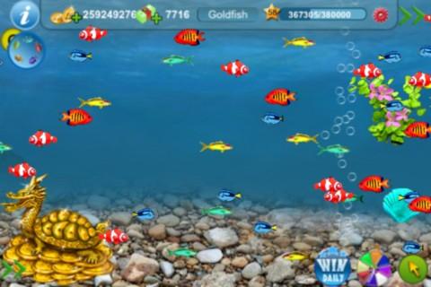 Tap fish 2 download ios game for Tap tap fish light jellyfish