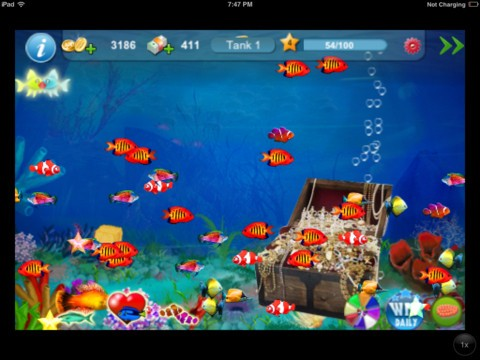 Tap fish 2 download ios game for Wsbtv fish and game