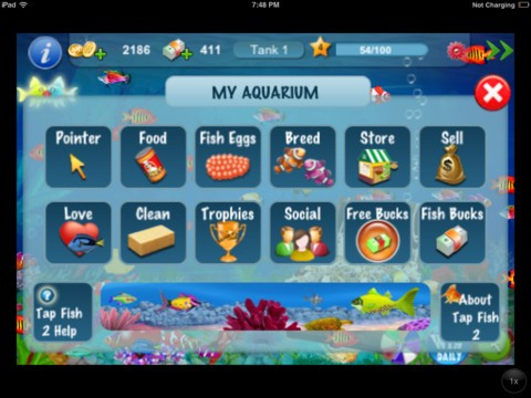 Tap fish 2 download ios game for Secret fish in tap tap fish