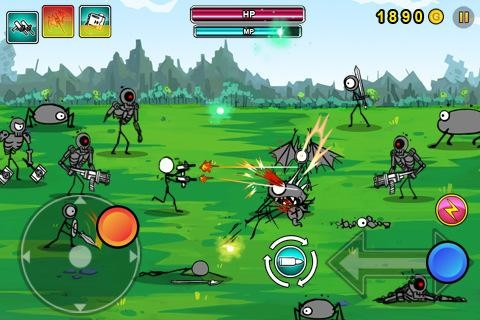 Cartoon wars strategy(Android phone) - YouTube