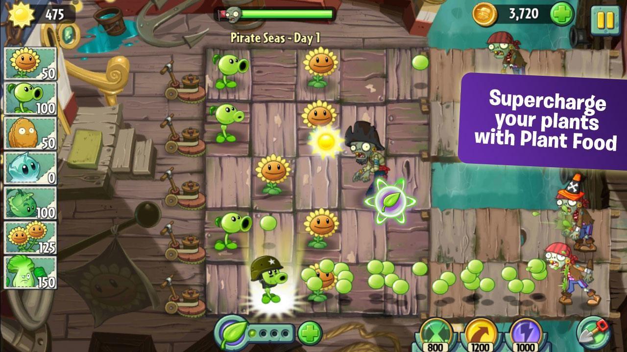 Игра Plant VS Zombies 2 - Играйте онлайн на Y8.com