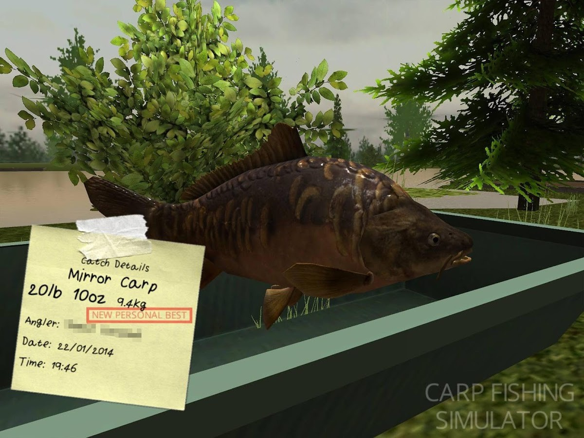 carp fishing simulator download android game